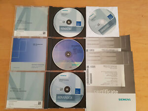 SIEMENS SIMATIC  STEP7 Prof. V12 SP1 TIA PORTAL + Startdrive, PLCSIM, License