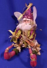 "MARK ROBERTS Collection NEW YEARS Limited Ed. 11"" Fairy Rare HTF"