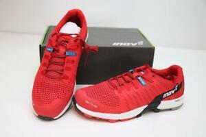 New Inov-8 RocLite 290 Men's Trail Running Shoes Standard Fit 8 Red Black White