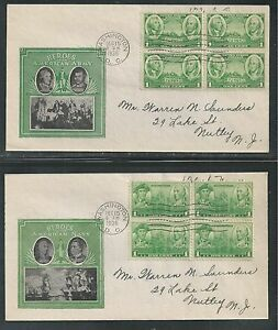 # 785-794 ARMY-NAVY, ANNAPOLIS, WESTPOINT 1936-37  FDCs, Planty # 1 (3554)