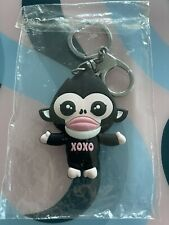 Brass Keychains With Monkey Pendant Key Chain Holder Keyrings Gift