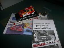 "Transkit 1/ 43 : MG AUSTIN METRO 6R4 ""nuit"" - AURIOL ""33""- RALLYE VAR / TDC 1986"