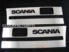 Set of 2 pcs. Step Decoration for SCANIA R Made Of Polished Stainless Steel