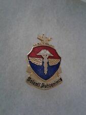 Authentic US Army School of Aviation Medicine DI DUI Crest Insignia HAWAII