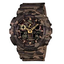 Casio G-Shock Camo Analogue Watch Model-GA-100CM-5A 4971850055419