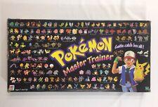Pokemon Master Trainer Board Game 100% Complete 1999 Vintage Hasbro