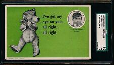 1907 PC775 Grignon Chicago Cubs Postcard: #9 Jack Pfiester SGC 60 5 Schedule