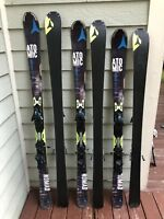 Atomic Nomad Blackeye Ti Demo Ski w/ XTO 12 Demo Bindings **GREAT CONDITION**