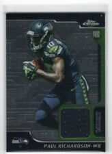Paul Richardson 2014 Topps Chrome Rookie RC Jersey JSY Card # RR-PR