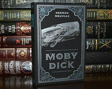 New Moby Dick Herman Melville Suede Leather Feel Ribbon Marker Deluxe