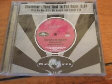 SHALAMAR UK CD Single TAKE THAT TO THE BANK I owe you one NEW & SEALED
