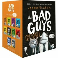 The Bad Guys The Baddest Box Ever 10 Book BoxSet by Aaron Blabey Brand New