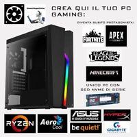 PC GAMING CREATOR 500W RAM HYPER FURY DDR4 3000MHZ 8GB SSD GYGABYTE 256GB 2280