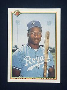 1990 Bowman BO JACKSON Baseball Card #378 Kansas City Royals *MINT* Sharp!