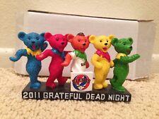 San Francisco Giants Grateful Dead Dancing Bears Statue Figure SGA 8-9-11