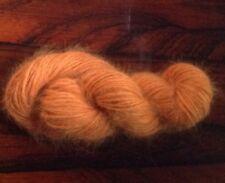 Marigold 100% angora yarn 20 grms/75 yds worsted weight