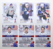 2019 BY cards IIHF World Championship Team USA Pick a Player Card