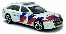BBURAGO Audi A6 Dutch Police / Politie / Scale 1:43 / NEW - Boxed