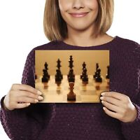 A5 - Awesome Chess Board Game Print 21x14.8cm 280gsm #8882