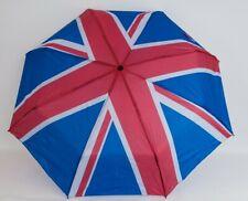 REGENSCHIRM ø98cm Union Jack England Fahne UK Taschenschirm Teleskop Schirm