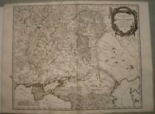 CRIMEA PENINSULA RUSSIA UKRAINE 1752 VAUGONDY ANTIQUE COPPER ENGRAVED MAP