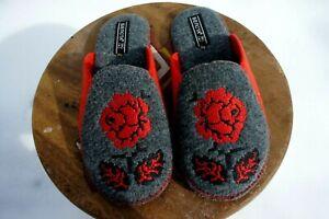 Premium Quality 100% Sheep Wool Sheep Felt Slippers .Made in Europe. USA Seller!
