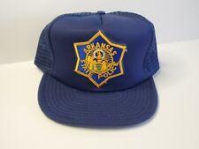 VTG 80s - ASP ARKANSAS STATE POLICE Snapback Trucker Baseball Hat Cap Mesh