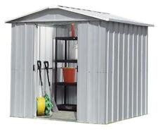 8488 Refurbished Yardmaster Apex Metal Garden Shed - Max Size 6ft 8in x 3ft 11in