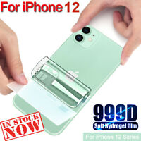 Full Cover Soft Hydrogel Back Film For IPhone 12 Pro Max Mini Screen Protector ❤
