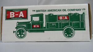#9512    1931 HAWKEYE TANKER BANK 1:34 SCALE BRITISH AM. OIL CO.