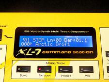 NEW BLUE LCD for E-mu XL-7 PX-7 MP-7 Emu MP7 PX7 XL7 XL-1 Mo'Phatt Rack Repair