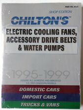 Chilton's Electric Cooling Fans,Accessory Drive Belts and Water Pumps,New,Sealed