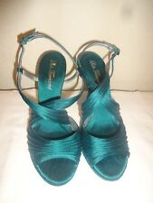 LULU TOWNSEND SANDALS WITH HEELS AND CROSS STRAPSIZE 7 W