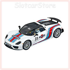 "Carrera Evolution 27467 Porsche 918 Spyder ""Martini Racing No.23"" 1:32 Auto"