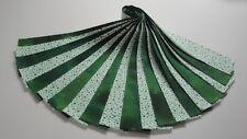 "Jelly Roll-Green Polka Dots-White B/G-Green Blender-20-2-1/2"" x WOF Strips"
