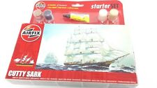 AIRFIX STARTER KIT CUTTY SARK NEW COMPLETE WITH GLUE PAINT AND BRUSH