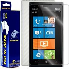 ArmorSuit MilitaryShield Nokia Lumia 900 Screen Protector + White Carbon Fiber