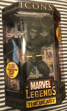 "MARVEL LEGENDS ICONS THE BEAST 12"" FIGURE NEW Sealed 2006 TOYBIZ"