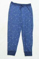 Sleep Riot Blue Stars Graphics Universe Poly Spandex Mens Pajama Pants XL D15
