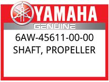 New Yamaha Shaft, propeller 6AW456110000, New Genuine OEM Part 6AW-45611-00-00