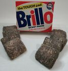Brillo Soap Pads Vintage Box Purex The Tuff Pad 8 pc Kitchen cleaning Movie Prop