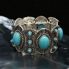 Bohemia Fashion Women Turquoise Vintage Bracelet Bangle Charm Jewelry Handmade