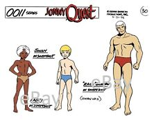 JONNY QUEST MODEL SHEET PRINT Hanna Barbera - QUEST SWIMSUITS MODEL Hadji Race