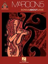 Maroon 5 Songs About Jane Sheet Music Guitar Tablature NEW 000690657
