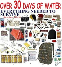 Over 3 Day 72 Hour Disaster Emergency Survival Kit Bug Out Camping backpack