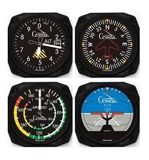 Cessna 4-Piece Instrument Coaster Set NEW-Pilot Gear