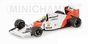 Mclaren Honda Mp 4/7 Ayrton Senna 1992 1:43 Model 540924301 Minichamps