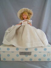Vintage Bisque Nancy Ann Storybook Doll 191 Flower Girl for May in Box