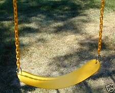 Swingset swing,play set,chained belt swing seat,playground accessory,kit,pvc,54""
