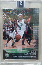 Isaiah Thomas BOSTON CELTICS PANINI INSTANT SCORES 52 POINTS #173 BLACK 1/1